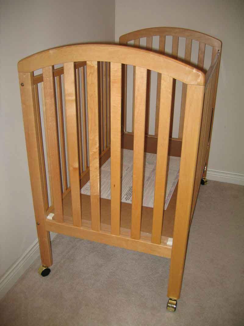 Stork Craft Solid Wood Crib